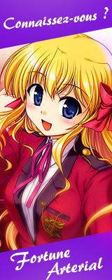 Zoom anime : Fortune Arterial